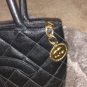 CHANEL Bags - Authentic Chanel medallion tote bag